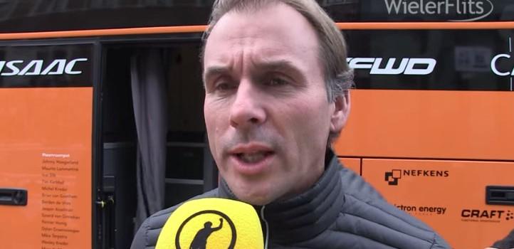 Breukink tevreden met prestatie Roompot Oranje Peloton in Omloop (video)