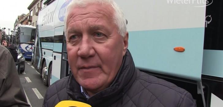 """Patrick Lefevere: """"Gent-Wevelgem was op randje van aanvaardbaar"""" (video)"""