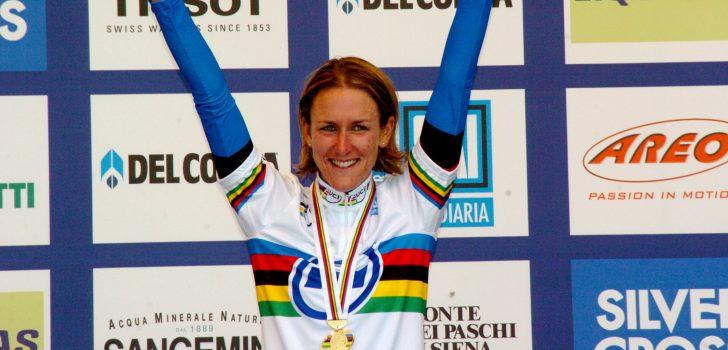Olympisch kampioene Kristin Armstrong maakt comeback