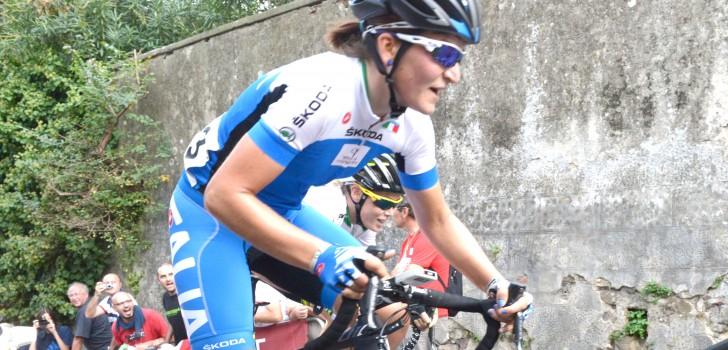 La Route de France prooi voor Elisa Longo Borghini