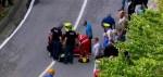 Einde Giro voor Domenico Pozzovivo na ernstige val