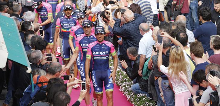 Giro 2015: Lampre-Merida kiest voor de aanval