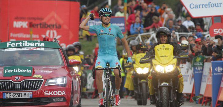 Vuelta 2015: Landa wint koninginnenrit, Dumoulin verliest rood aan Aru