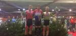 Theo Bos en Laurine van Riessen worden Nederlands kampioen Sprint
