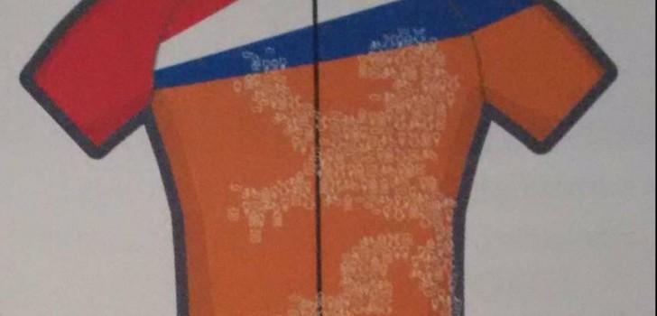 Leeuw prijkt op shirt Nederlandse wielrenners in Rio
