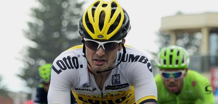 Vuelta 2016: Battaglin (LottoNL-Jumbo) geeft op