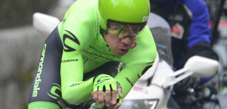 Giro 2016: Ook Uran kwam ten val in tijdrit