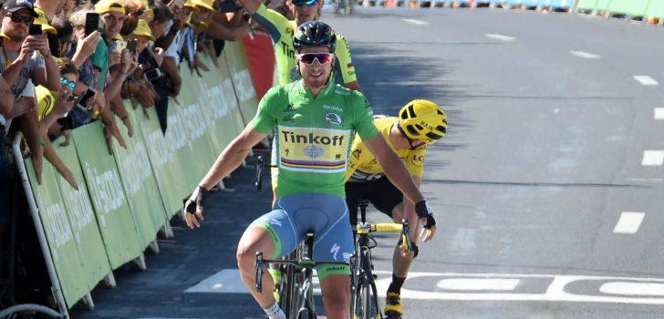Tour 2016: Peter Sagan en Chris Froome plegen coup in Montpellier