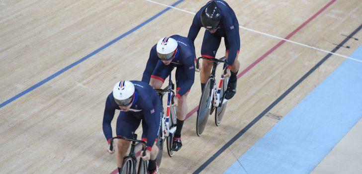 Rio 2016: Groot-Brittannië ongenaakbaar op teamsprint