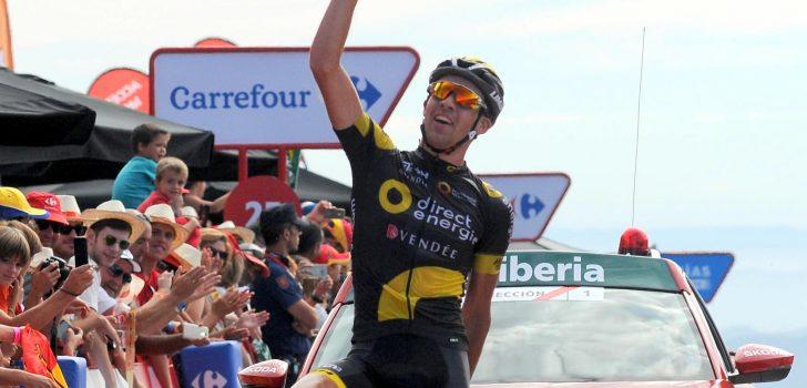 Vuelta 2016: Calmejane beste vluchter, opnieuw tijdverlies Kruijswijk