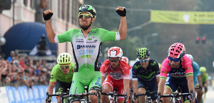 Colbrelli triomfeert in Tre Valli Varesine, Slagter vierde