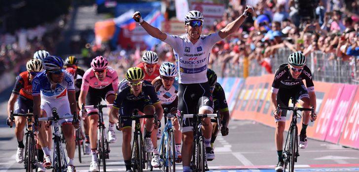 Giro 2017: Jungels beste sprinter van de favorieten, Dumoulin houdt roze