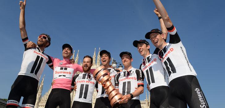 """Laurens ten Dam: """"Twee Giro's gereden, twee keer gewonnen"""""""