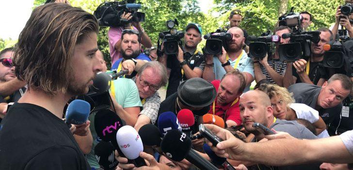 Peter Sagan maakt rentree in Ronde van Polen