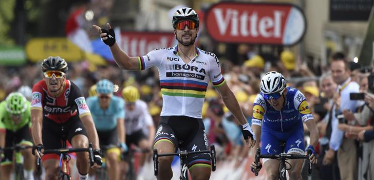 Tour 2017: Sagan maakt favorietenrol waar in Longwy