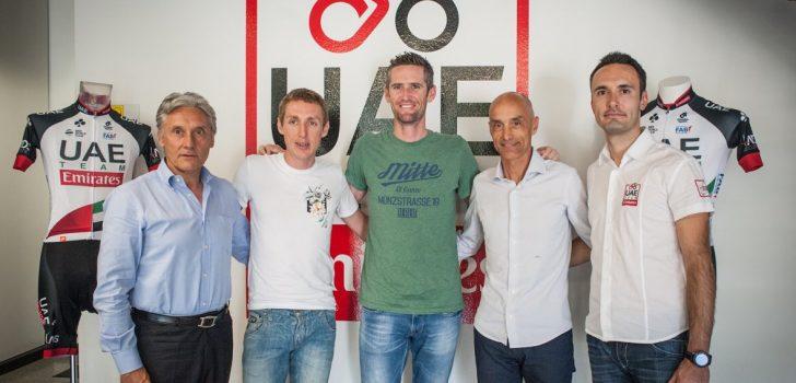 UAE Emirates hengelt Daniel Martin en Rory Sutherland binnen
