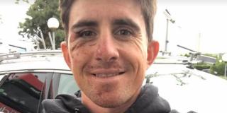 Samuel Dumoulin verloor even bewustzijn na harde val