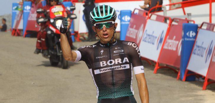 Vuelta 2017: Majka wint na knappe solo, Kelderman stijgt naar plek drie