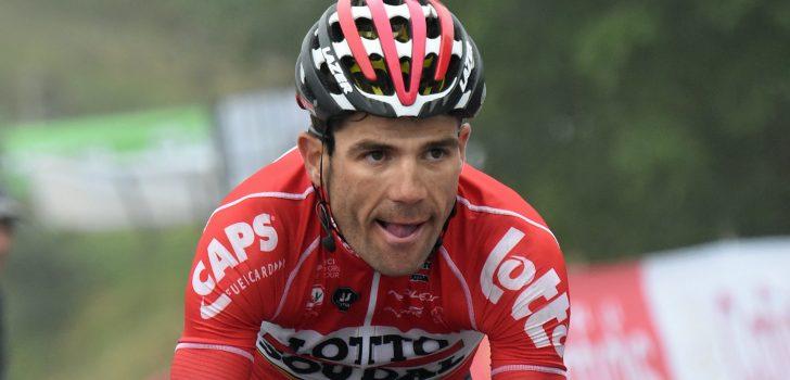 Vuelta 2017: Monfort niet meer van start