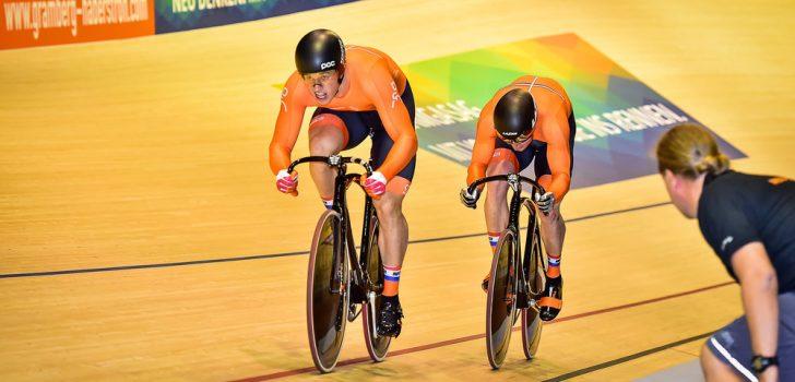 Lavreysen en Hoogland veroveren medaille op slotdag Wereldbeker baan