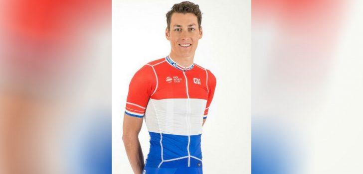 Dit is de kampioenstrui van Ramon Sinkeldam bij Groupama-FDJ