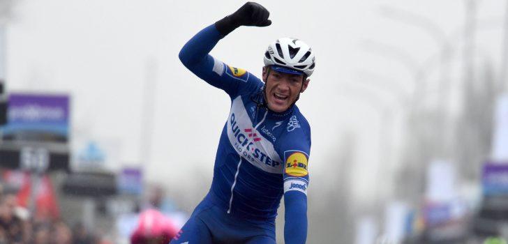 Yves Lampaert volgt zichzelf op in Dwars door Vlaanderen, Mike Teunissen tweede