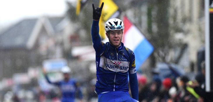 Cavagna primus in Dwars door West-Vlaanderen, Jakobsen vierde