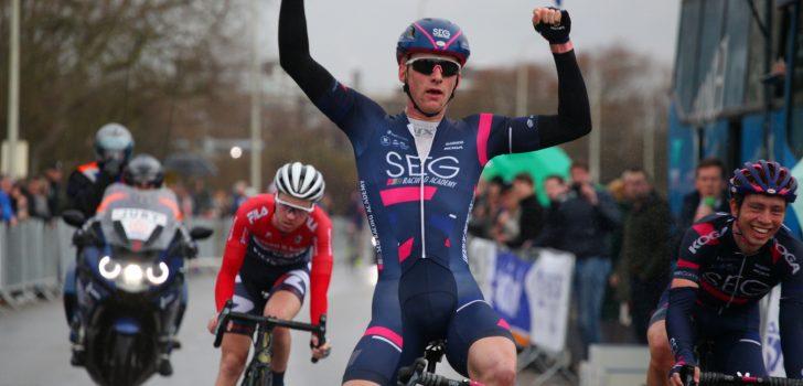 Hartthijs de Vries, opgaves Parijs-Nice en Tirreno-Adriatico, George Bennett