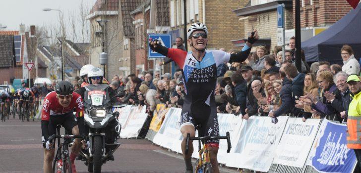 Mikkel Bjerg triomfeert in Dorpenomloop Rucphen