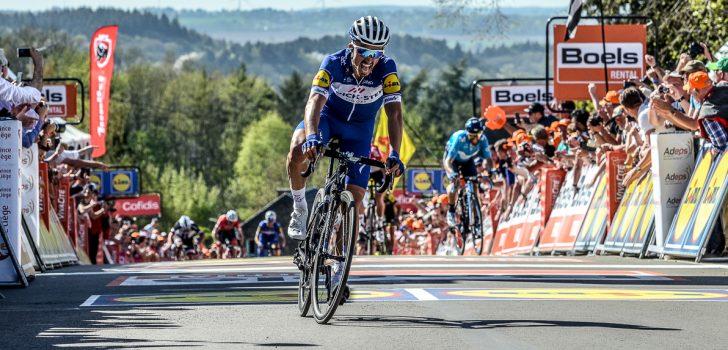 Julian Alaphilippe houdt Alejandro Valverde af van zesde Waalse Pijl