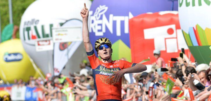 Mark Padun, Remco Evenepoel, Robert Bovenhuis, Ronde van Zwitserland