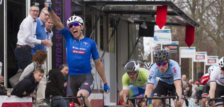 Matteo Moschetti maakt favorietenrol waar in ZLM Tour