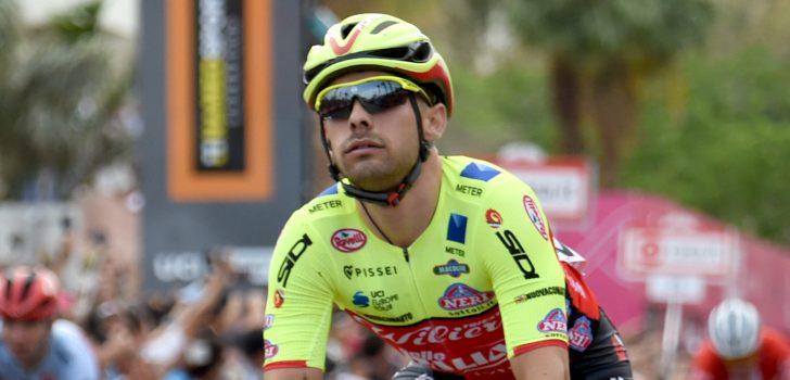 Giro 2018: Jakub Mareczko knijpt in de remmen