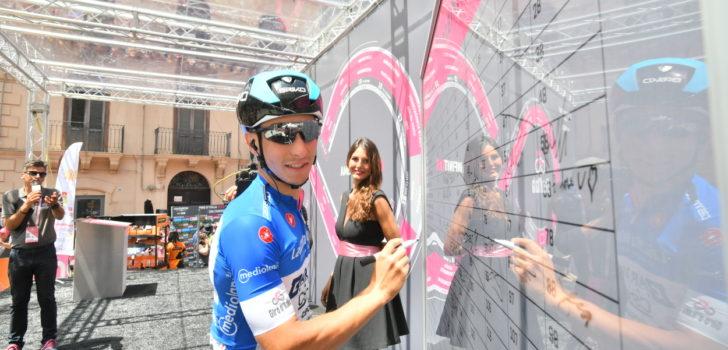 Giro 2019: Enrico Barbin geeft er de brui aan