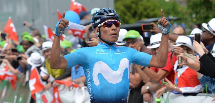 Solozege Nairo Quintana op Arosa, Richie Porte behoudt de leiding