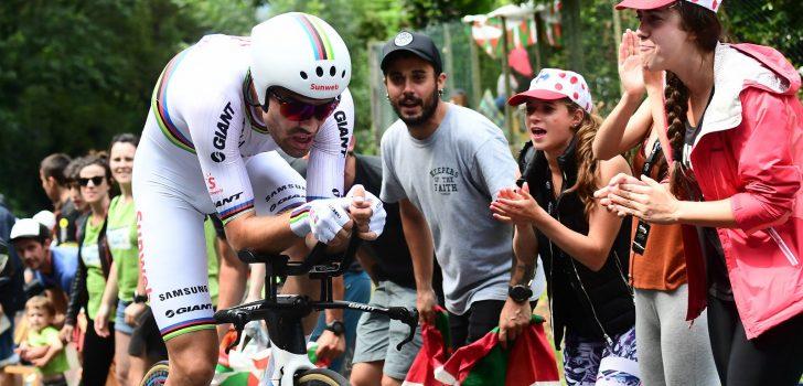 Tour 2018: Dumoulin pakt in extremis ritzege, Froome knikkert Roglič van het podium