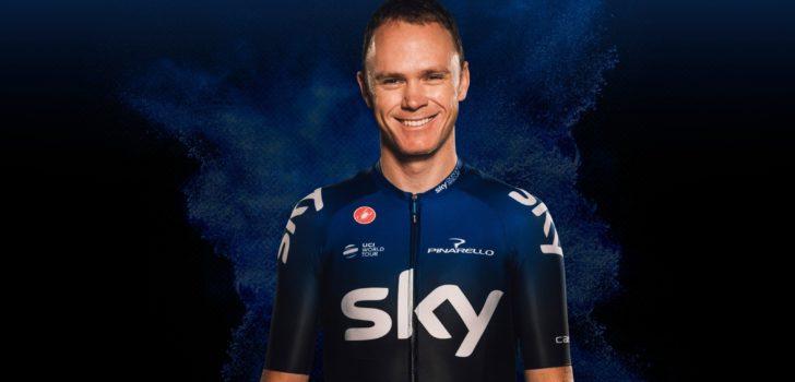 Wielertenues 2019: Team Sky kiest weer voor zwart tenue