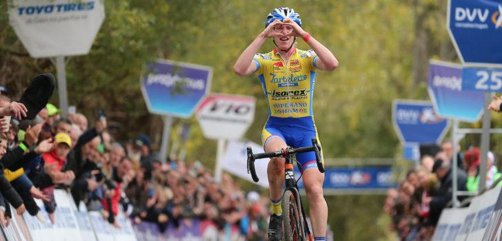 Van de Steene pakt winnaarskei op de Koppenberg