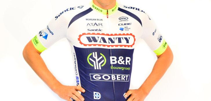 Wielertenues 2019: Meer wit in de shirts van Wanty-Groupe Gobert