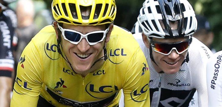 """Geraint Thomas: """"Dit jaar meer concurrentie in de Tour"""""""