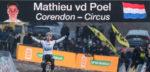 """Mathieu van der Poel dwaalde af in Zonhoven: """"Ik was een beetje nonchalant"""""""