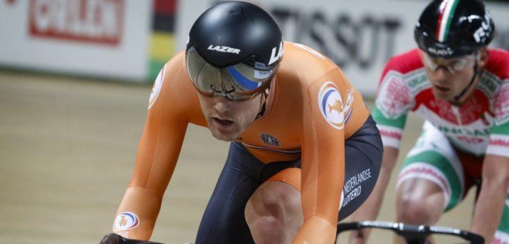 Roy Eefting pakt goud op scratch na majestueuze sprint