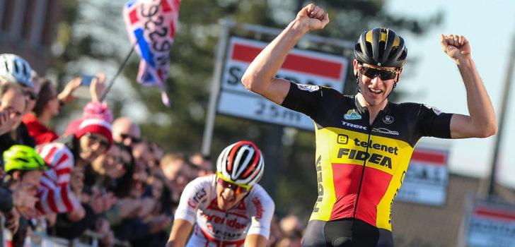 Toon Aerts sprint sneller dan Tom Meeusen in Leuven