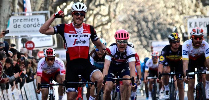 Trek-Segafredo start met oud-winnaar Degenkolb in Milaan-San Remo