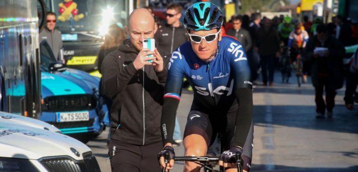 """Thomas debuteert in Strade Bianche: """"Denk niet dat ik al de vorm heb om te winnen"""""""