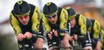 Mitchelton-Scott klopt Jumbo-Visma in ploegentijdrit Tirreno