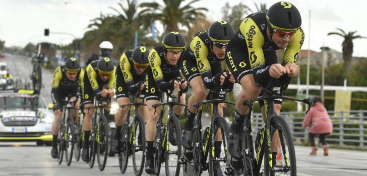 Mitchelton-Scott wint ploegentijdrit in Czech Cycling Tour