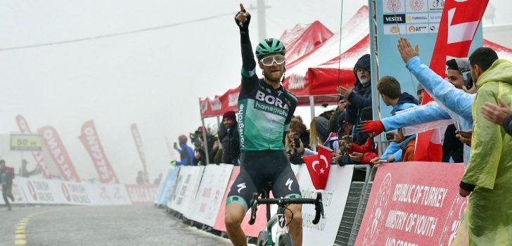 Großschartner wint ingekorte bergrit Ronde van Turkije