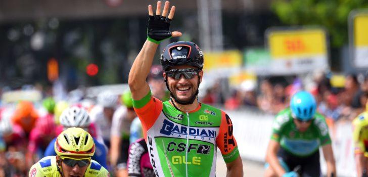 Giro 2019: Guardini grote afwezige bij Bardiani-CSF