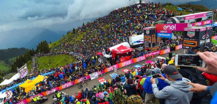 'Giro d'Italia 2020 met Etna, Gavia en Zoncolan'